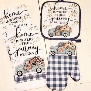 🆕️ Farmhouse Farm Truck Kitchen Set